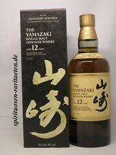 Yamazaki Aged 12 Years Single Malt Japanese Whisky