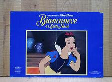 BIANCANEVE E I SETTE NANI fotobusta poster affiche Walt Disney Seven Dwarfs AM28