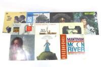 """Lot of 10 Miscellaneous 12"""" Vinyls 33 RPM LP Records"""