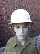 VINTAGE WWII CIVIL DEFENSE METAL HELMET