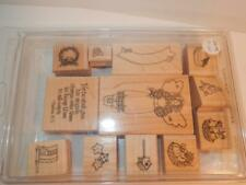 STAMPIN UP COUNTRY ANGEL OF 12 IN BOX STAMP IN BOX