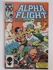 "Marvel Comics ... ""Alpha Flight ... Sub-Mariner Vs. Marrina""... Oct. 1984."