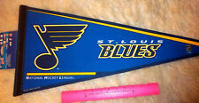 St. Louis Blues NHL Hockey Team 30 x 12 Felt Pennant , made in the USA