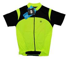 Canari Blade Cycling Jersey Mens Medium M MD Short Sleeve Neon Yellow runs big