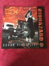 Biohazard Urban Discipline Inner Sleeve  First Pressing Vinyl Record Album Rock