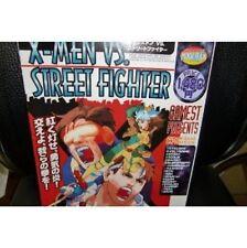 X-Men VS. Street Fighter guide book fan book / PS