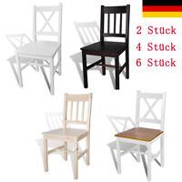 2/4/6 x Esszimmerstuhl Küchenstuhl Holzstuhl Esszimmer Stuhl mehrere Auswahl DE