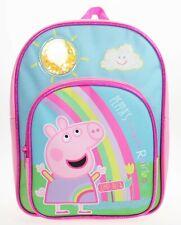 Peppa Pig Backpack | Girls Peppa Pig Rucksack | Kids Peppa Pig Bag | Glitter