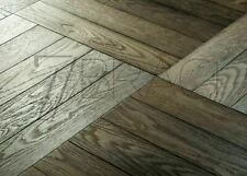 Grand Parquet 14/6x150x750mm Engineered Chêne Docks de la ville huilé Herringbon...