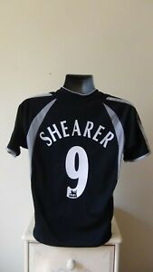 Newcastle United Away Football Shirt Jersey 2003-2004 SHEARER 9 Small