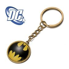 BATMAN 60s style Globe logo bronz Classic DC Comics Full Metal Key chain cosplay