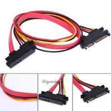 22 Pin Male to Female 7+15 pin SATA Data Power Combo Extension Cable 45CM NIGH