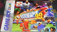 International Superstar Soccer 99 Manual Only Nintendo Game Boy Color GBC ISS