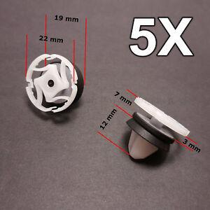 5X Door Trim Panel Retainer, Padding Mounting for Renault, Peugeot, Citroen
