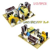 1/2/5PCS AC-DC 12V 2A Power Supply Switch Module Voltage Regulator Circuit Board