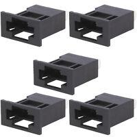 5 Flush mount panel Fuse Holders upto 20AMP Automotive IP20