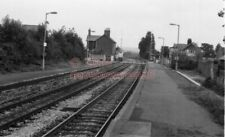 PHOTO  SR PINHOE RAILWAY STATION VIEW 1 OF THE BASIC STATION 6/9/84 1