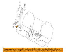 NISSAN OEM Front Seat Belt-Anchor Cover 87836ET00C
