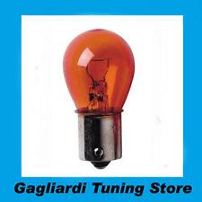 Lampada 1 Filamento PY21W 12V 21W BAU15s 2 pz  Arancio  Lampadina Luci  C58065