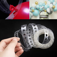 EE_ 5M BALLOON CHAIN TAPE BAND CONNECT STRIP WEDDING BIRTHDAY PARTY GIFT DECOR O