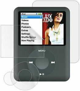4-IN-1 Crystal Clear Screen Protector Film Kit for 3rd Generation iPod Nano