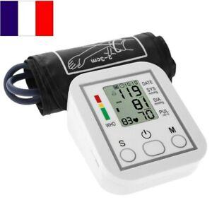 Tensiomètre Électronique Compact Détection de Pulsations Cardiaques Irrégulières