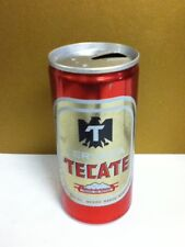 """Tecate Cerveza aluminum pull tab old beer can Mexico mexican 12 oz. 5.25"""" AG8"""