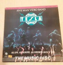 Tesla 5 Man Video Band on Laserdisc. Excellent Condition