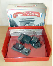 Pack VEHICULES LIBERATION PARIS WWII Camion Renault AHN + Citroen Traction 11AL