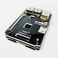 Kobz Raspberry Pi B+ 2 Model B 2B Ninja Computer Clear Case Box Acrylic Black