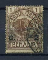 Somalia 1906 Sass. 10 Gestempelt 100% 2 c. Aufdruckt, Benadir