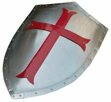 Medieval Shield Armor Templar Crusader Warrior Protector And Collectible Gift