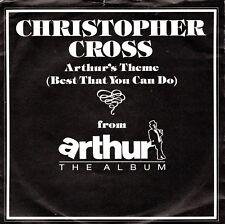 7inch CHRISTOPHER CROSS arthur's theme HOLLAND 1981 EX  (S0979)