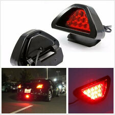 12V Triangle 12LED Red F1 Style Car Offroad Low Third Brake Stop Light Universal