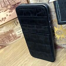 Patrona Real Leather & Steal Black Pearl Case Limited Edition For Apple iPhone 5