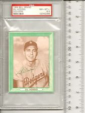 1958 BELL BRAND DODGERS GIL HODGES PSA 8.5 (NM-MT+) ONLY 2 PSA 9's & ZERO 10's!!