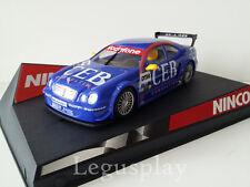 "SCX Scalextric Slot Ninco 50287 Mercedes CLK DTM ""CEB"" Nº17"