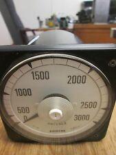 Crompton Ampmeter 73210290 Range: 5A Scale: 0-3000 Used