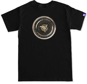 Dayton Wire Wheel Spoke Lowrider airbags Impala super suport SS black T Shirt