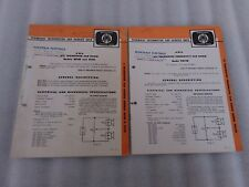 Ford XR Falcon Car Radio Service Manuals 1966 GT AWA