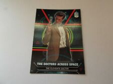 "Topps / BBC - Dr Who Doctors Across Space ""THE ELEVENTH DOCTOR"" #11 Trading Card"