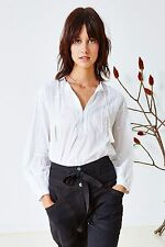 Blusa Bordado Floral ULLA JOHNSON Marbella EE. UU. 0 Reino Unido 6