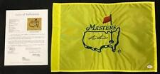 Sam Snead Autographed Signed Masters Pin Flag w/ JSA COA