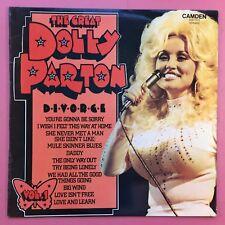 The Great DOLLY PARTON - Divorce - vol.1 - CAMDEN cds-1171 ex-condition