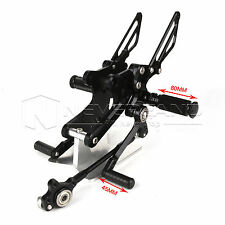 Adjustable Rearsets Foot Pegs Rear Set Footrests For Honda CB1000R 2008-2016