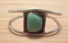 Sterling Silver Turquoise Cuff Bracelet ~ 18.3 grams ~ 7-C1573