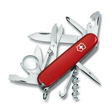 Victorinox Swiss Army Pocket Knife Explorer Red Handle, 91mm 53791