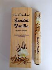 Wholesale Hari Darshan Ethical Incense 120 Stick Box Sandal Vanilla Fragrance