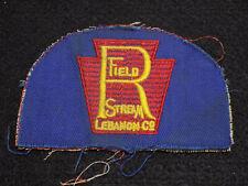 Vintage 1960s R Champ & Stream SPORTS Club Liban Pa Patch