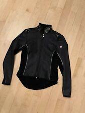 Assos Womens Long Sleeve Full Zip Black Cycling Jacket Sz XL